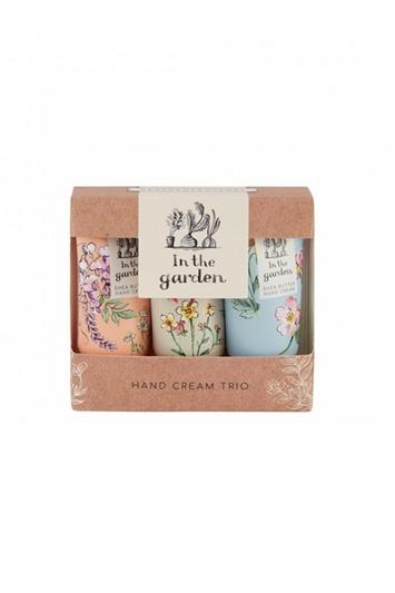 Heathcote & Ivory - In The Garden Hand Cream Trio