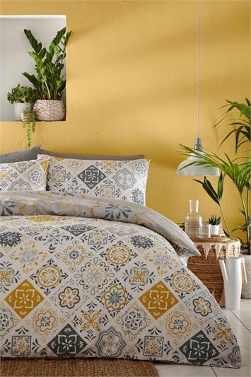 Super King Size Morocco Duvet Cover Set