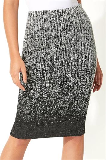 Ombre Texture Skirt