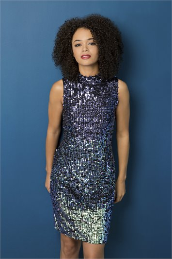 Stunning Ombre Sequin Dress