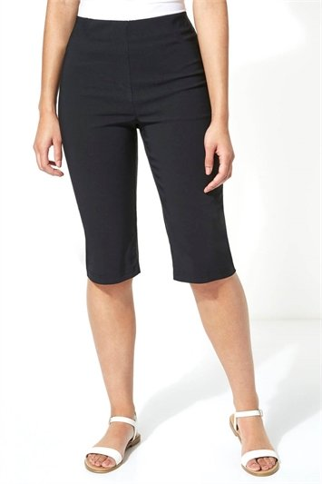 Knee Length Stretch Shorts