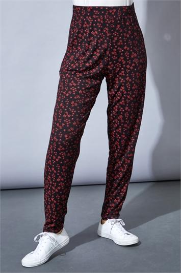 Ditsy Floral Print Lounge Pants
