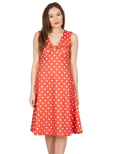 Sabetha Polka Swing Dress