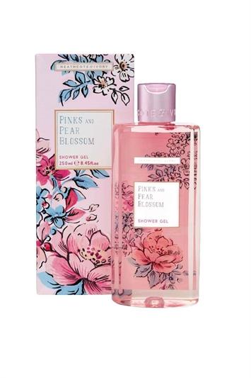 Heathcote & Ivory - Pinks & Pear Blossom 250ml Shower Gel