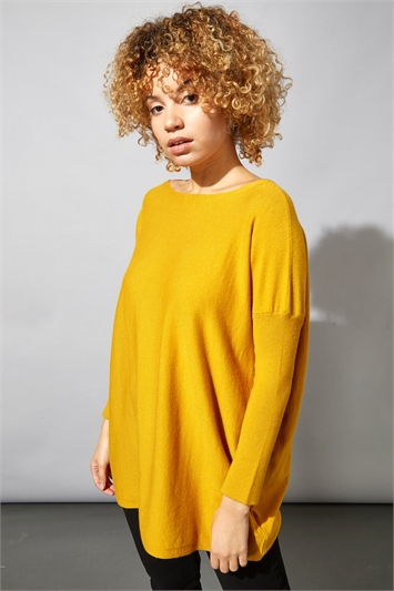 Oversized Knit Lounge Jumper