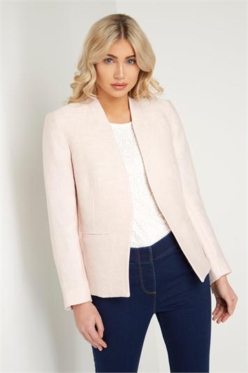 Pleat Tailored Jacket