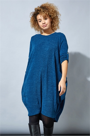 Jersey Slouch Cocoon Dress