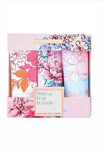 Heathcote & Ivory - Pinks & Pear Blossom Hand & Nail Creams