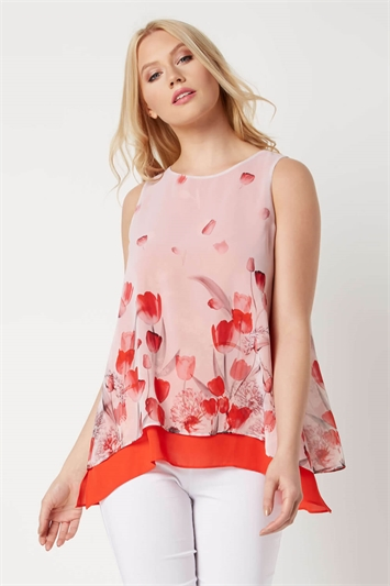 Tulip Double Layer Top