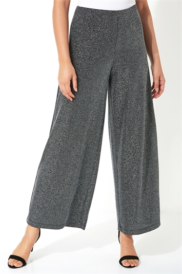 Sparkle Wide Leg Trousers