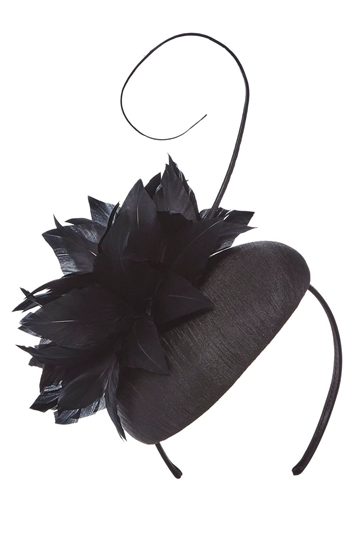 Feather and Quill Pillbox Fascinator