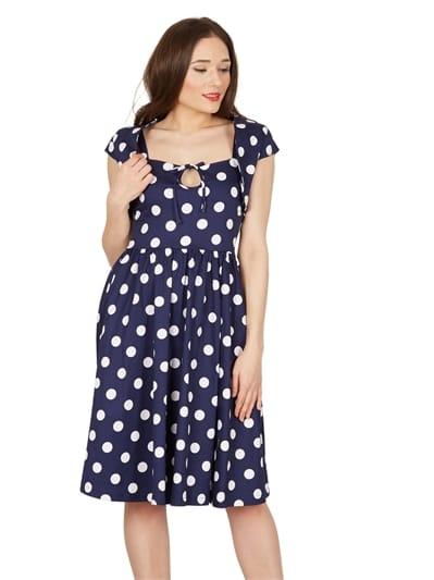 Lindy Bop Libby Polka Swing Dress