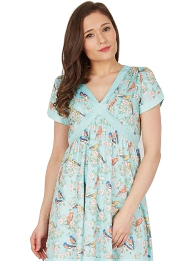 Ariadne Bird Blossom Day Dress