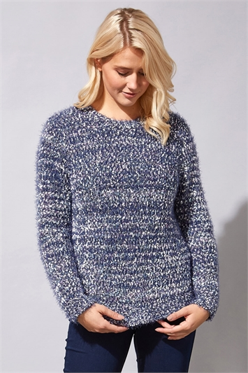 Fluffy Textured Jumper