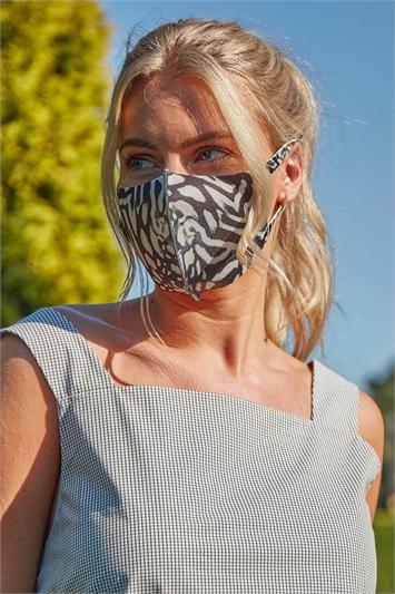 Black Animal Fast Drying Fashion Face Mask