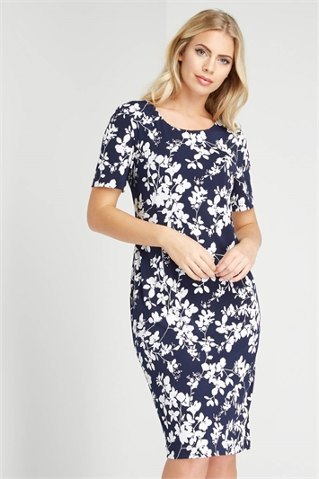 Floral Print All-Over Dress