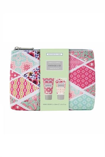 Heathcote & Ivory - Vintage & Co. Hand Creams & Make-Up Bag