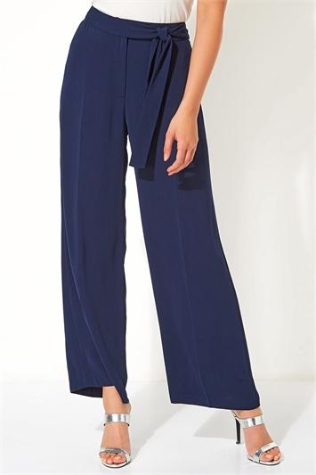 Side Tie Waist Trousers