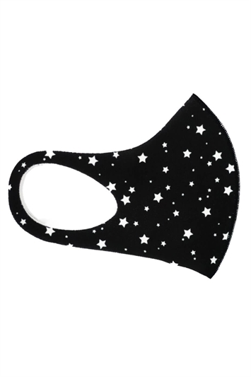 Star Print Fast Drying Fashion Face Mask