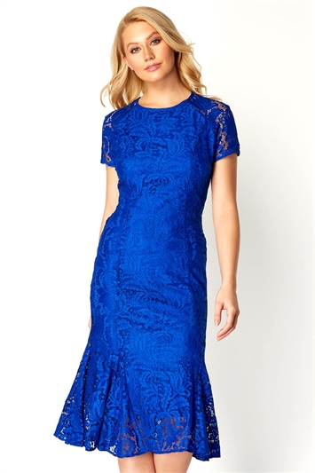 lace royal blue