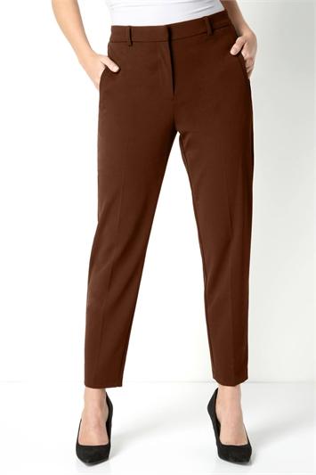 Straight Leg Tapered Trouser