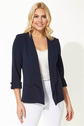 3/4 Sleeve Waterfall Jacket