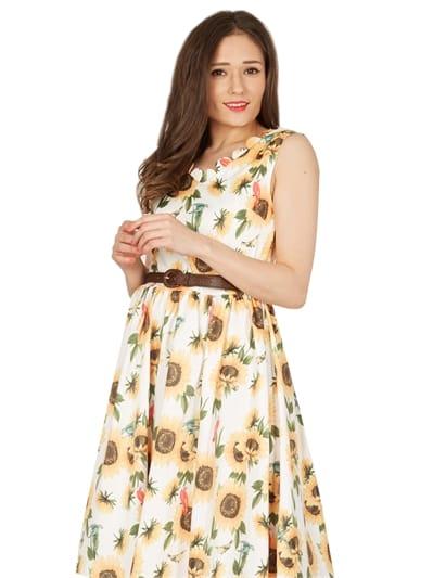 Daria Sunny Day Swing Dress