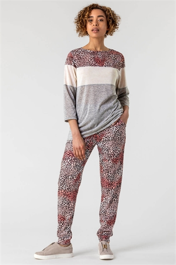 Animal Print Lounge Pants