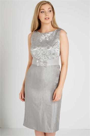 Online Exclusive Jacquard Shift Dress