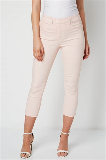 Cropped Denim Jegging