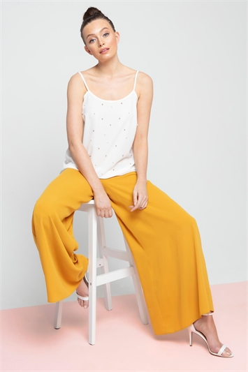 Super Wide Leg Trousers