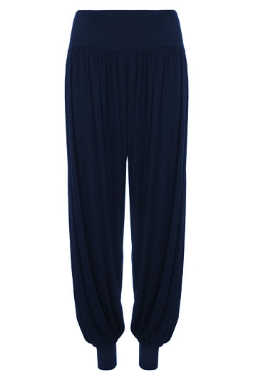 Jersey Stretch Harem Trousers