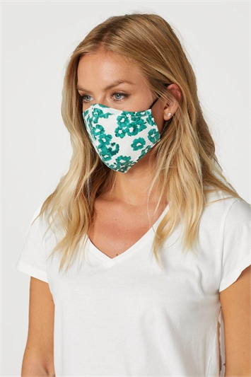 Floral Print Fast Drying Fashion Face Mask