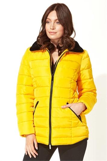 Short Zip Through Padded Coat