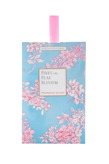 Heathcote & Ivory - Pinks and Pear Blossom Fragranced Sachet