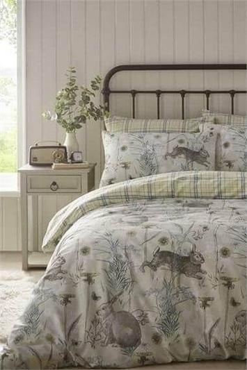 Single Rabbit Meadow Duvet Cover Set