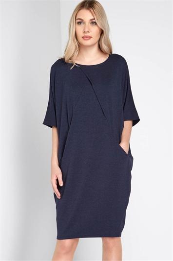Cross Over Cocoon Dress