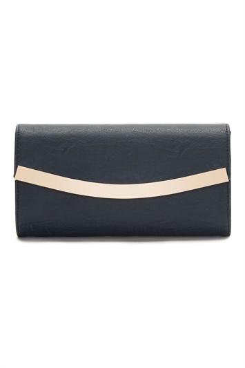 Rounded Envelope Clutch Bag