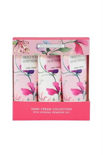 Heathcote & Ivory - Sweet Pea & Honeysuckle Hand Cream Collection