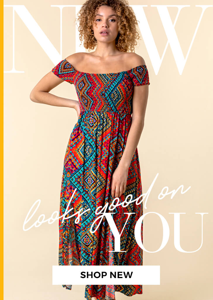 New looks good on you - SHOP NEW >