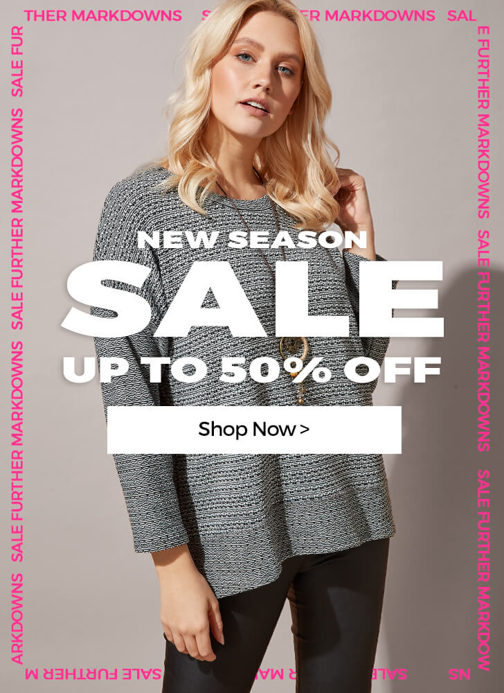 New Season SALE up to 50% off - SHOP NOW