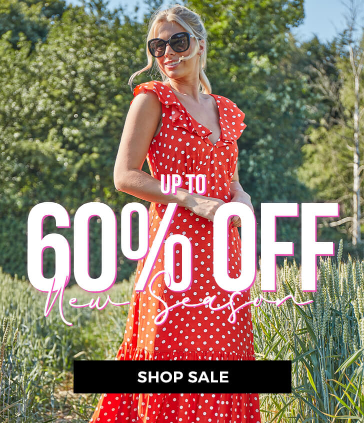 Up to 60% off New Season - Shop Sale >