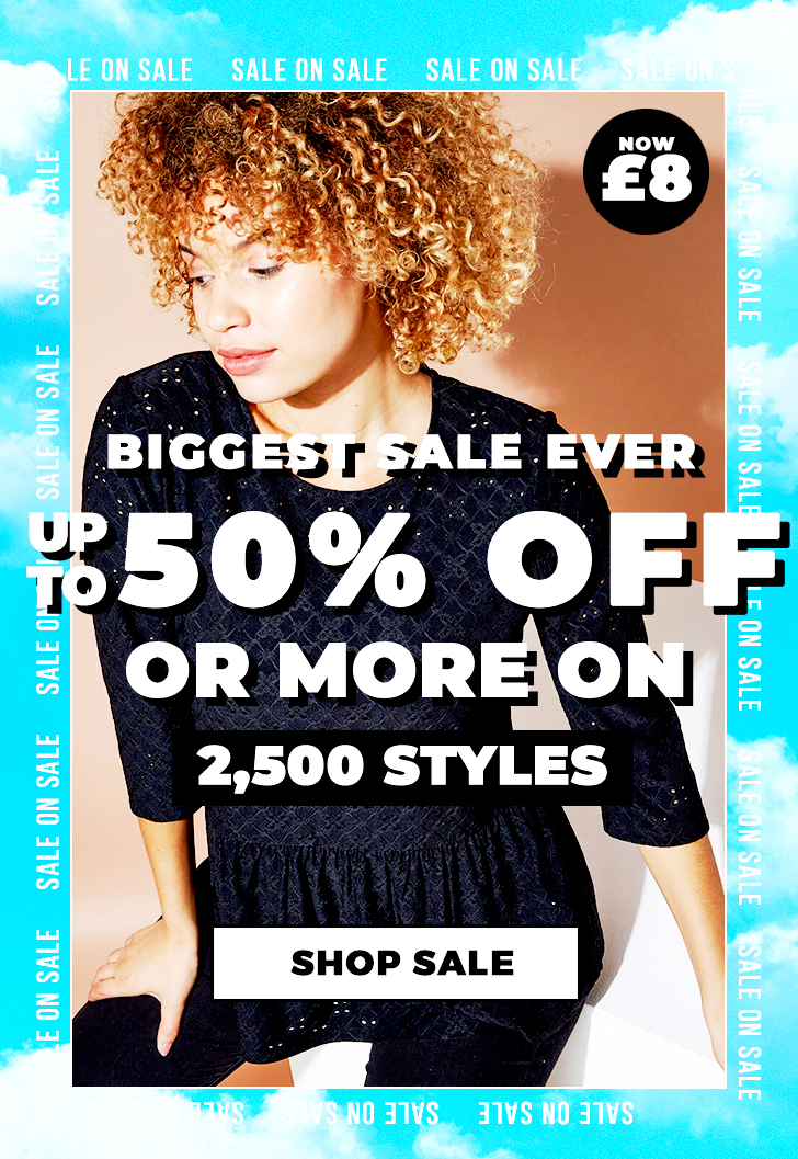 Up to 50% off - SHOP NOW >