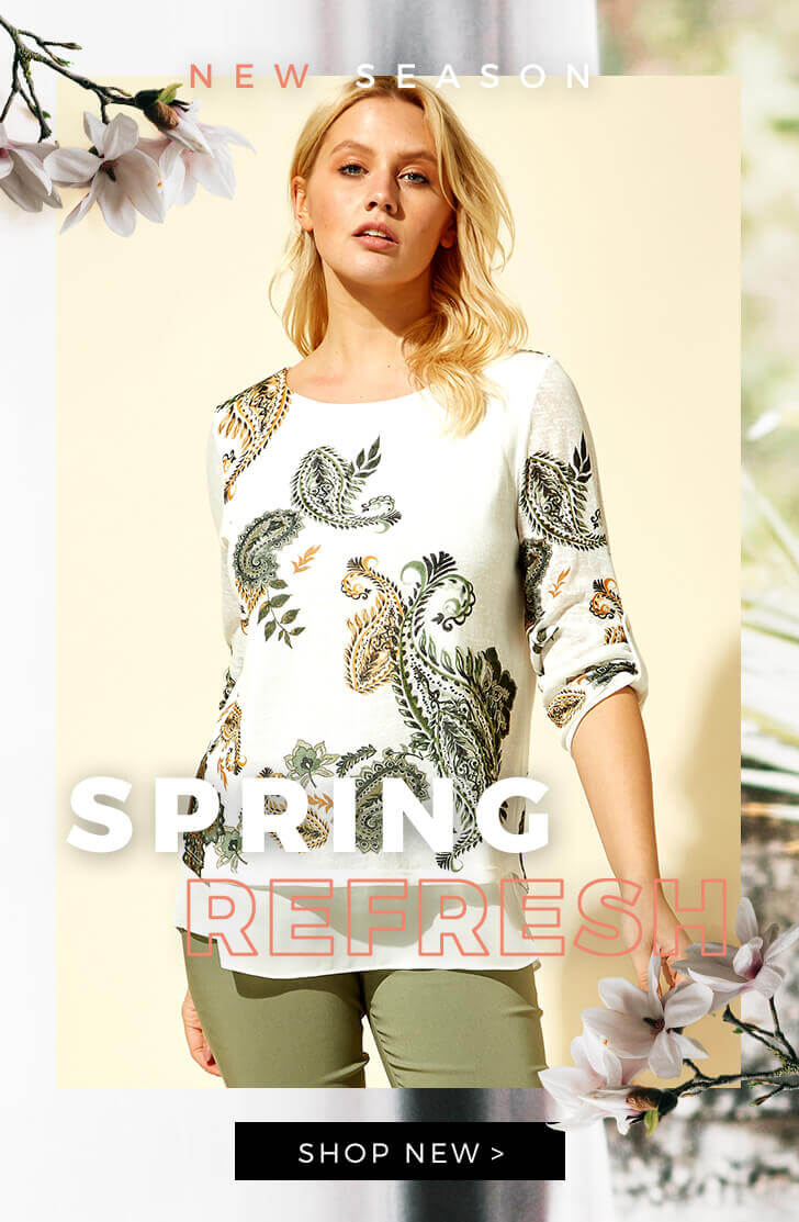 Spring Refresh - SHOP NOW >