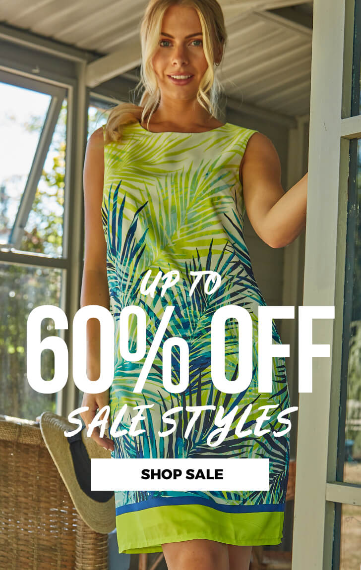 Up to 60% Off Sale Styles - SHOP SALE >